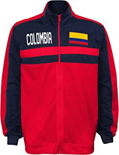 colombia soccer track jacket
