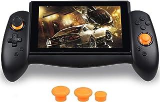 Zacro Controlador de Mando para Switch, Reemplazo de Stick, con Vibración de Doble Motor,Type-C Cable,3 Tapas diferente de Stick
