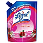 Lizol Disinfectant Surface & Floor Cleaner Liquid Refill Pack, Floral - 1800 ml | Kills 99.9% Germs