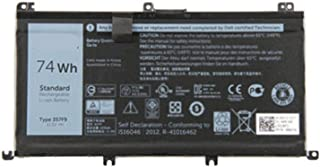 Binger New 357F9 Replacement Laptop Battery Compatible With Dell Inspiron 15 7000 Series 7559 I7559 Gaming Laptop 357F9 71JF4 357F9 74Wh 0GFJ6(11.1V 74wh)