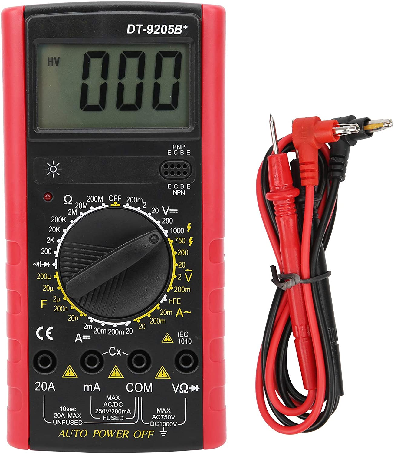 Dallas Mall Current Tester Meter ABS Multimeter Stable Electric for Jacksonville Mall Various