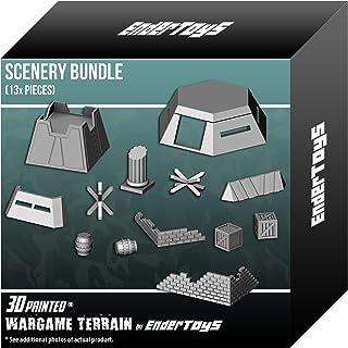 Paintable Bundle - Gaming Terrain Scenery - Wargame Miniatures