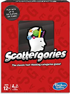 Scattergories - Fast Thinking Categories Game - Don't Let the Time Run Out - Word and board Games - Ages 12+