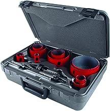 MK Morse MHS08E Bi-Metal Hole Saw Electrician Kit Master, 13-Piece