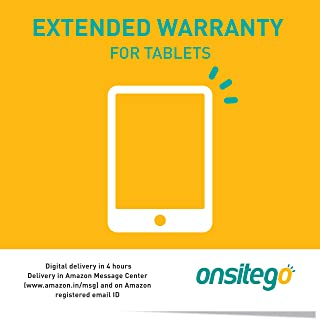 Onsitego 1 Year Extended Warranty for Tablets (Rs. 80,001-10,0000) (Email Delivery in 2 Hours)