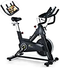 PYHIGH Indoor Cycling Bike-48lbs Flywheel Belt Drive Stationary Bicycle Exercise Bikes..