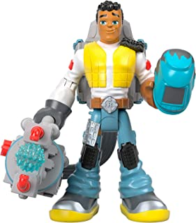 Fisher-Price Rescue Heroes Carlos KitBash, 6-Inch Figure with Accessories