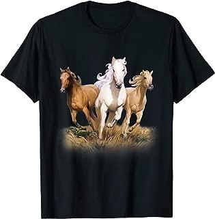 Horse Running Horse Shirt For Men T-Shirt