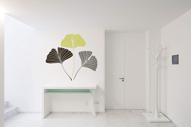 Ginkgo Cheap SALE Start Biloba Leaf Plant Aesthetic Room M Sticker Popularity Vinyl Car Wall