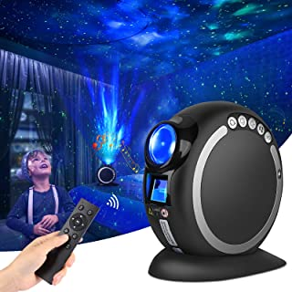 LiulingWSH Star Projector Night Light, Galaxy Projector with Remote Control and Nebula Lamp,Star Light Projector Bluetooth...
