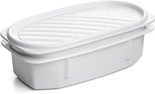 TATAY 1167711 Boites de Conservation, Plastique, Blanc, 18,4 cm