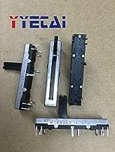 4.5 cm straight slide potentiometer single 100K plastic shaft length 15mm mixer sliding fader