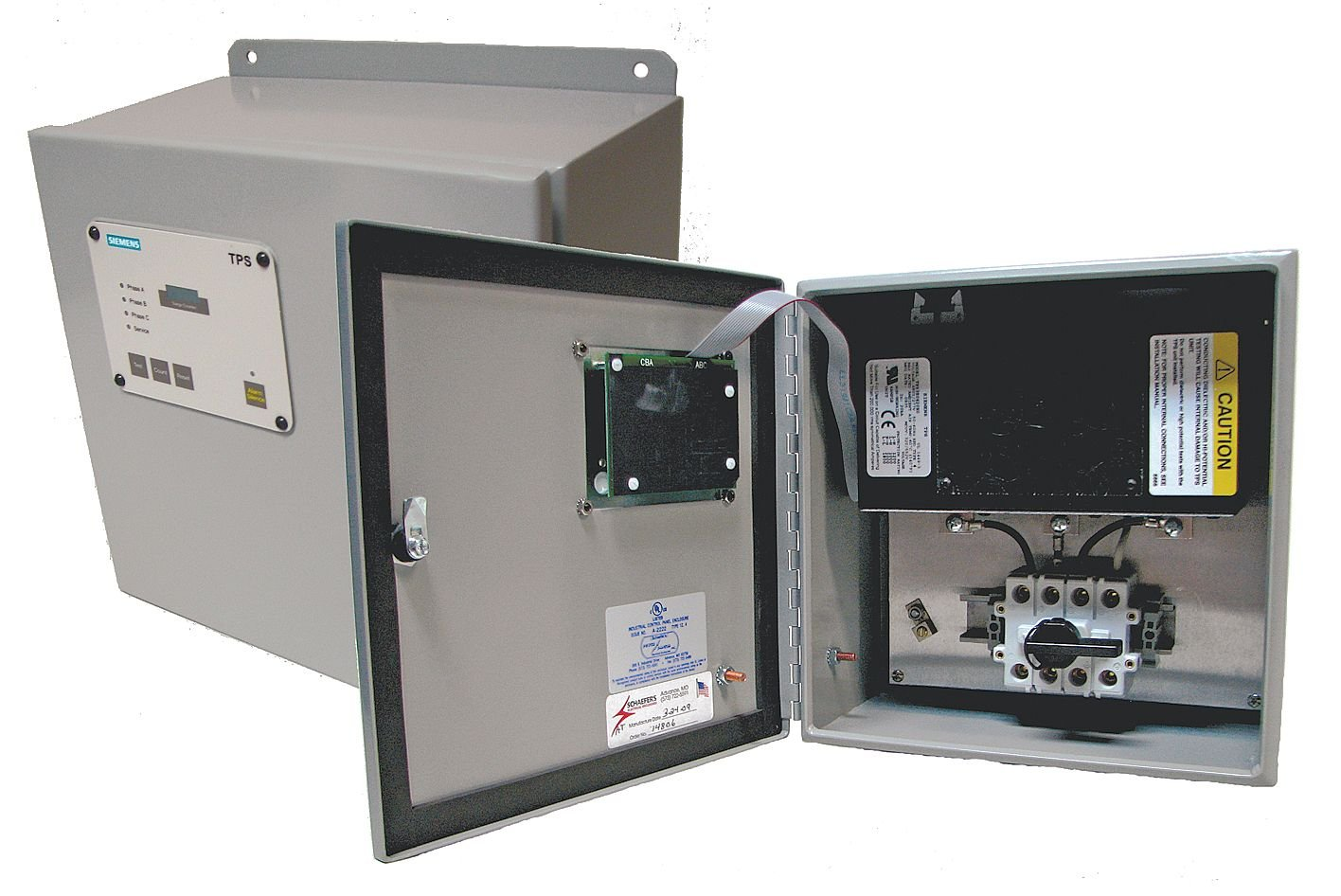 Siemens - TPS3A12200X0 SPD 200kA Gorgeous Max 63% OFF 2P Hardwired