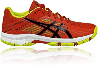 5316fdece9cd Chaussures ASICS Junior Gel-Solution Speed 3 Orange / Jaune PE 2016