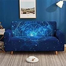 غطاء للأريكة، ومنشفة أريكة، وأغلفة أريكة ملونة بطباعة ثلاثية الأبعاد، أغطية منزلقة قابلة للتمدد، ومطاطية على شكل حرف L