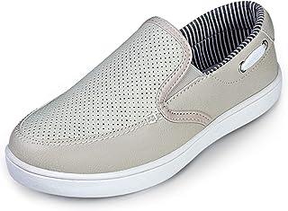 ZHILETAO Boys Casual Boat Shoes Girls Slip-on Loafer(Toddler/Little Kid)