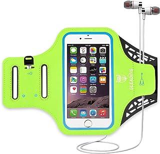 comprar comparacion Brazalete Deportivo para Correr de GLEADING Resistente al Agua- Funda de 6.1 Pulgadas para iPhone 11,11 Pro, XR,XS,Samsung...