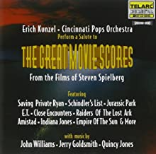 Salute To The Great Movie Scores Films Of Steven Spielberg