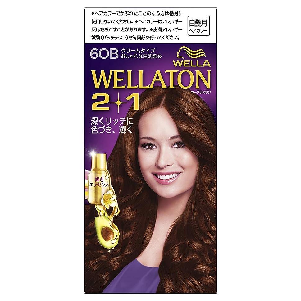 弱点ゾーンあたたかいウエラトーン2+1 白髪染め クリームタイプ 6OB [医薬部外品]×6個