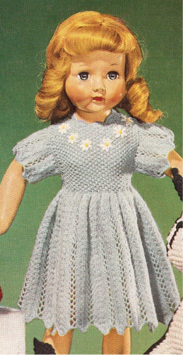 Knitting Patterns For 18 Dolls   Free Patterns