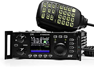 Xiegu G90 HF Amateur Radio Transceiver 20W SSB/CW/AM/FM 0.5-30MHz SDR Structure with Built-in Auto Antenna Tuner