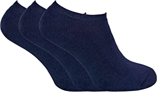 3 Pairs Mens Thick Winter Warm Cushioned Low Cut Ankle Thermal Trainer Socks