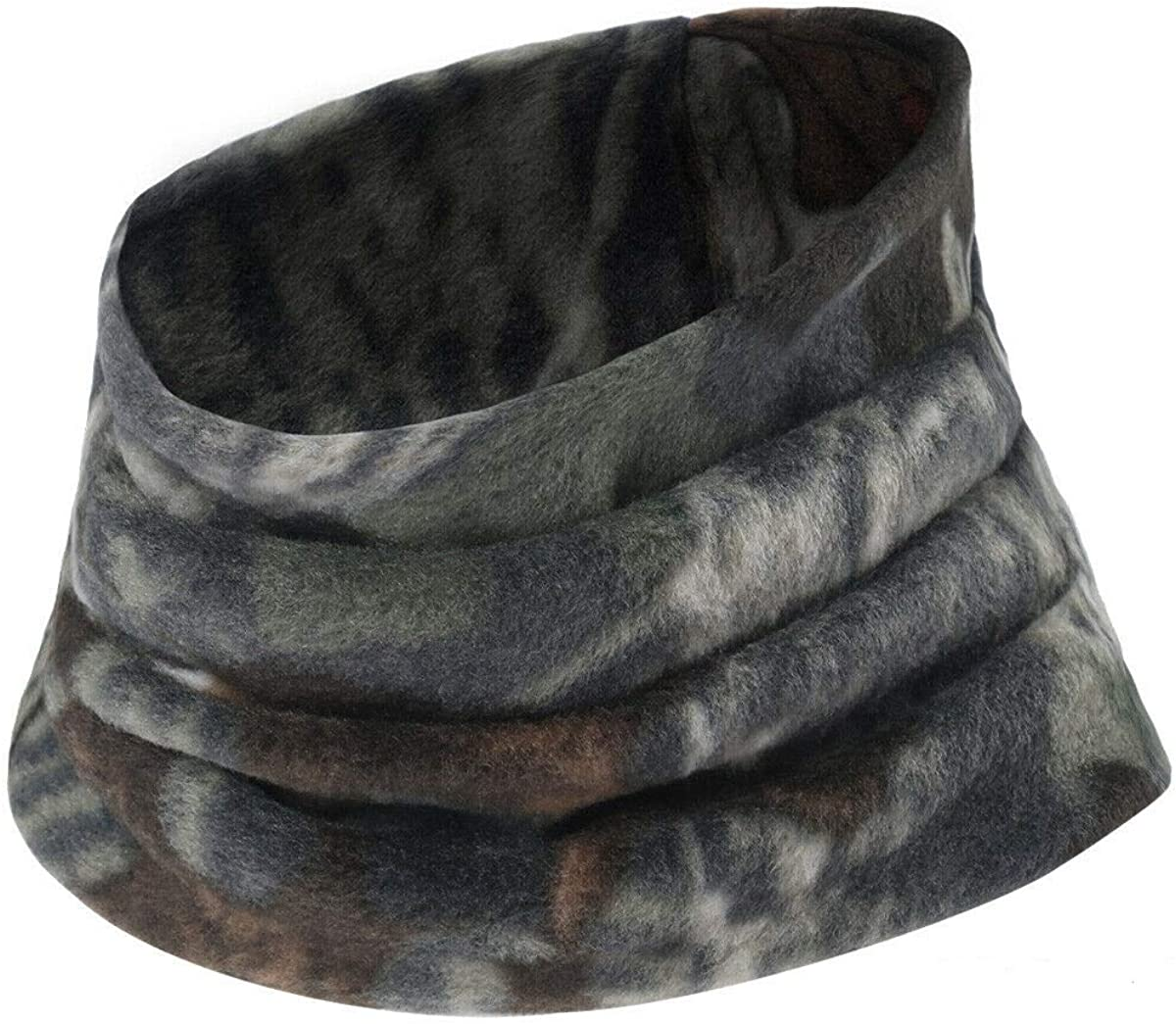 Cold Weather Fleece Neck Gaiter Camo Windproof Face Mask Winter Neck Warmer - RC16