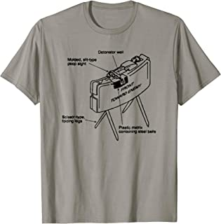 Funny Infantry Claymore Mine shirt 0311 11B