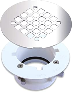 top mount shower drain