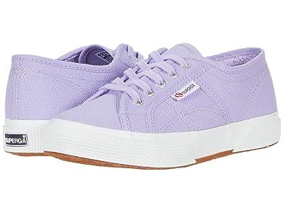 Superga Kids 2750 JCOT Classic (Toddler/Little Kid) (Violet) Girls Shoes