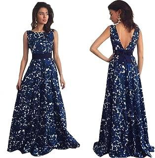 Women Summer Dress,Todaies Sexy Women Floral Long Formal Prom Dress Party Ball Gown Evening Wedding Dress 2018