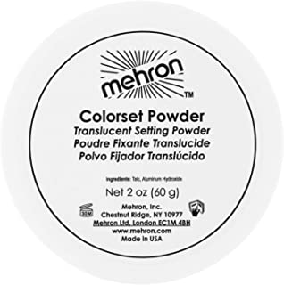 Mehron Makeup Colorset Powder for Special Effect, Halloween, Movies (2 oz)