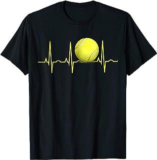 Tennis Heartbeat Shirt Tennis T-Shirt for Players & Coaches