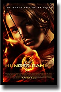 Hunger Games Poster - Promo Flyer 2012 Movie - 11 X 17 - Jennifer Lawrence - FireBow Margin