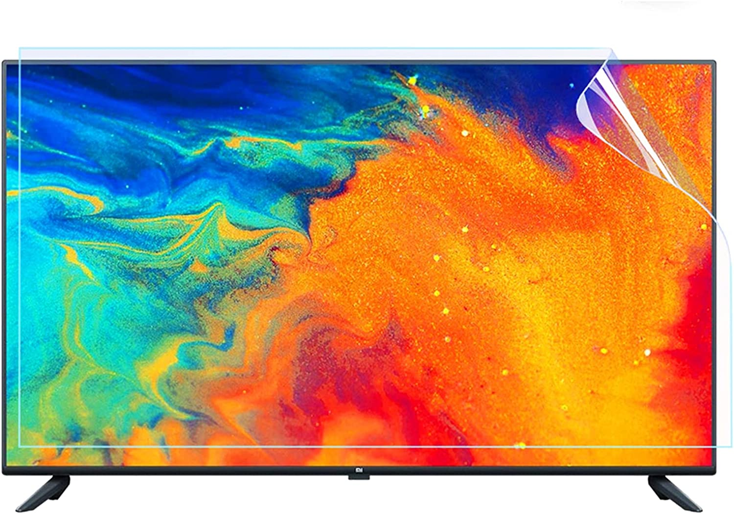 Anti-Scratch TV Screen Protector Max 83% OFF for - Frosted Topics on TV Anti-Glare 32-75