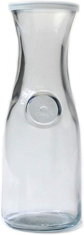 Anchor Hocking 0 5 Liter Carafe With Clear Lid Set Of 4