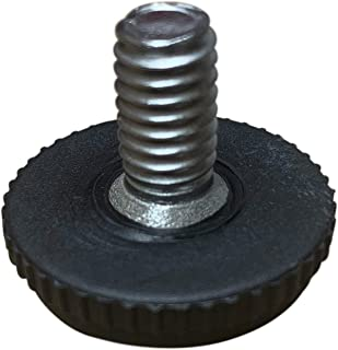 Project Patio 5/16-18 Screw in Threaded Adjustable Feet Glide for Patio Furniture Chairs and Tables (16)