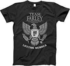 Team Farley Lifetime Member Family Surname T-Shirt for Families with The Farley Last Name