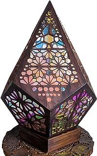 ZJJX Lampadaire HOLOW Lampadaire en Plastique Bohême Lumière Bohême Style Décoration Cadeau pour Maison Jardin