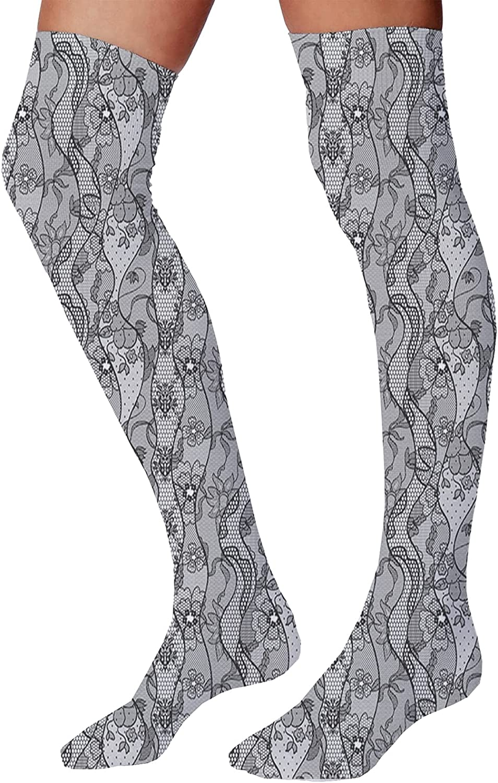 Men's and Women's Fun Socks,Koi Longfin Gurnard Fish Swimming Pale Complex Customized Sea Backdrop Image
