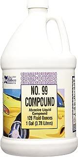 Blue Ribbon 88550 #99 Heavy Cut Liquid Super Duty Rubbing Compound - 1 gallon