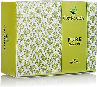 Octavius Pure Green Tea - 100 Teabags