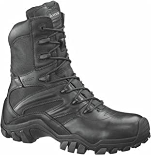 Bates Boots Boots Boots Boots Boots Men's 20.32 سم Zip Side Fight Boots 2348-10M