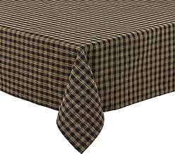 Park Designs Black Sturbridge Table Cloth 54 X 54