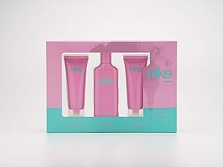 Nike - Sweet Blossom Estuche de Regalo para Mujer Eau de Toilette 75 ml Gel Baño 75ml y Body Lotion 75ml
