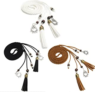 Exotic Women Waist Belt/ Rope/Chain with Tassel and Beads