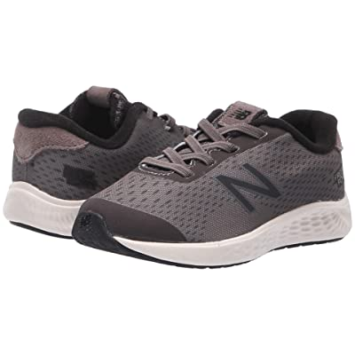 New Balance Kids KVARNv1 (Infant/Toddler) (Dark Gull Grey/Black) Boys Shoes