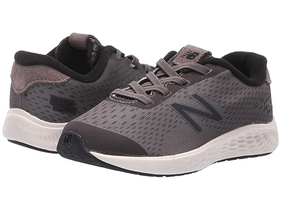 New Balance Kids KVARNv1 (Infant/Toddler) (Dark Gull Grey/Black) Boys Shoes