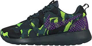 WMNS Nike Roshe One PREM Plus [807614-453] Women Casual Shoes Camo Green/Purple