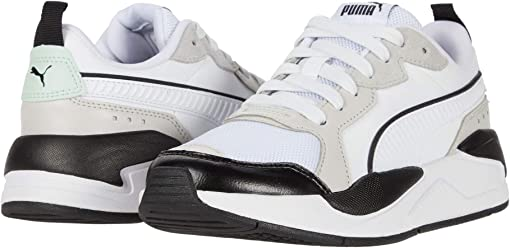 Puma White/Gray Violet/Mist Green/Puma Black
